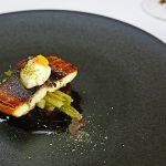 鰻のスモーク 八尾葉ごぼうの照り焼き 和牛ほほ肉 山椒 オキサリス